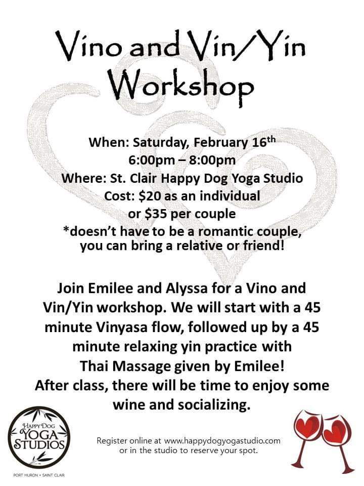 vino and vin/yin workshop