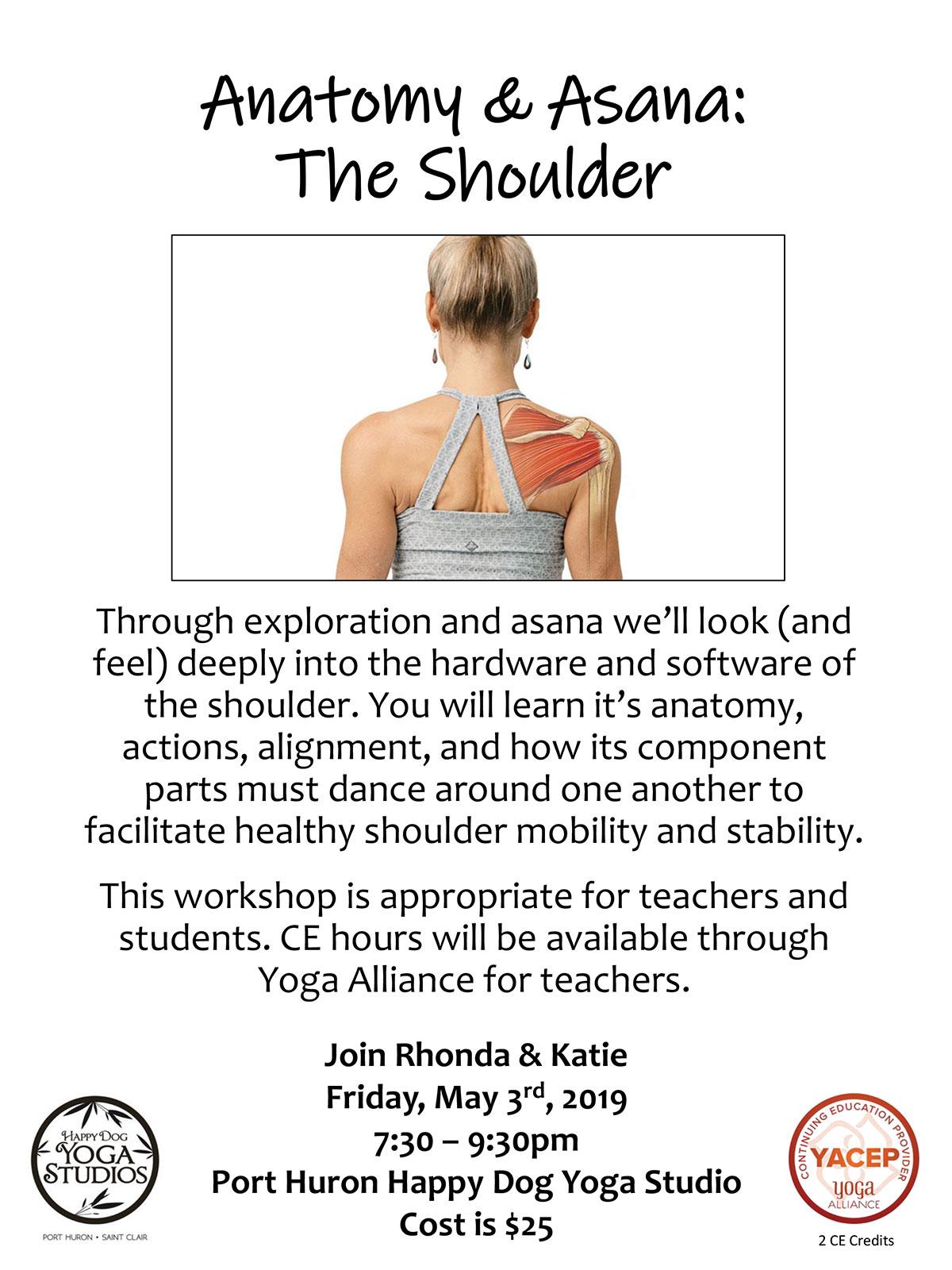 Anatomy & Asana: The Shoulder