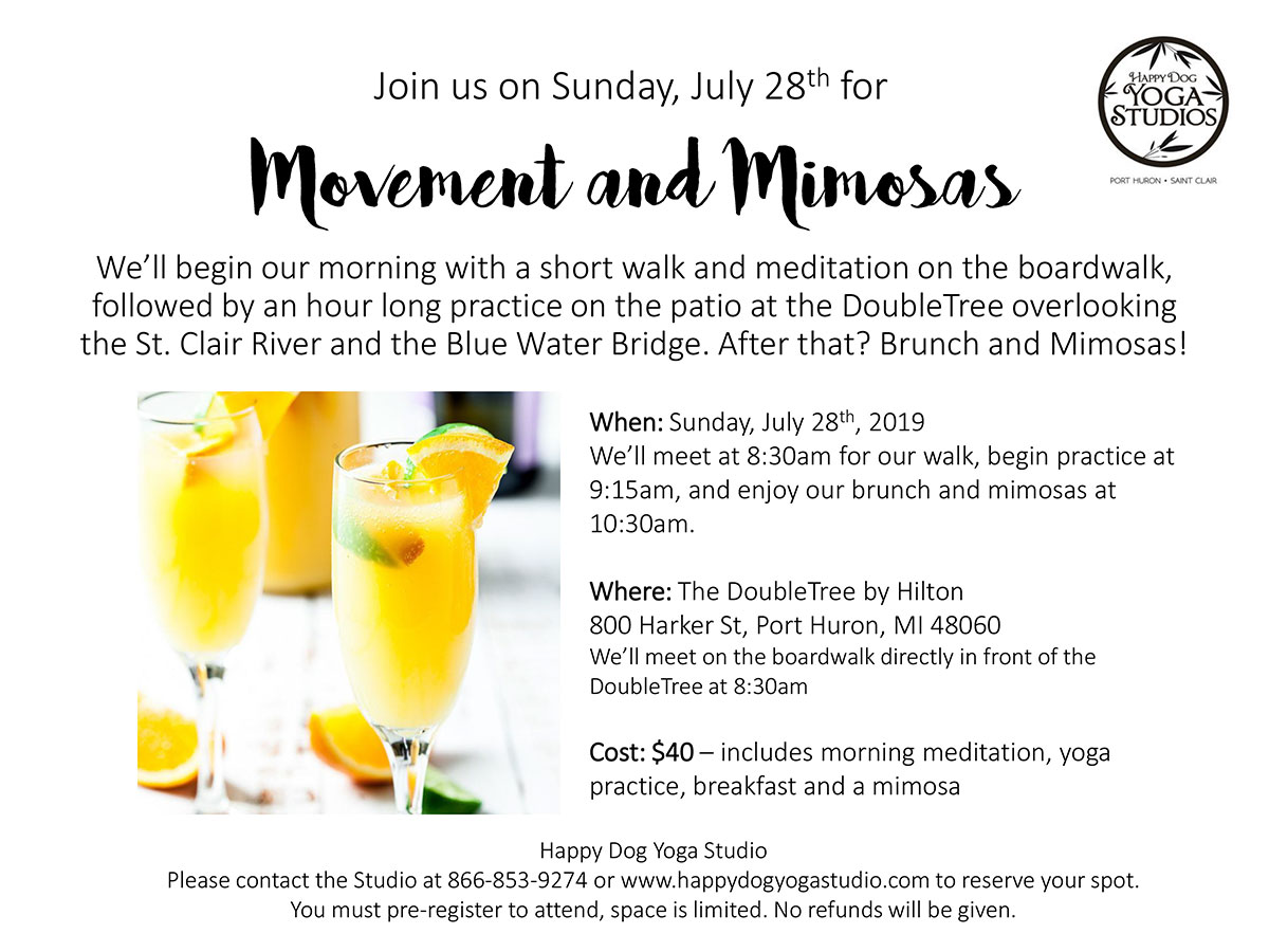 Movement and Mimosas
