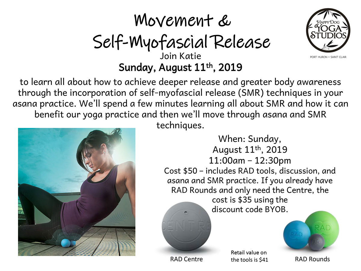 Movement and self Myofacial reslease